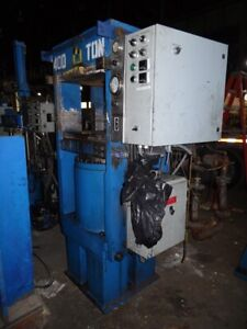 392 Ton 24 X 24 Platen Slab Side Transfer Molding Press B32644
