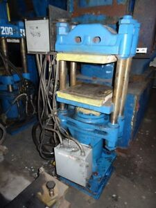 F H Maloney 4 post Hydraulic Molding Press B32645