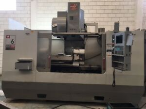 Haas Vf 6b 40tr 5 axis Cnc Vertical Machining Center B36245