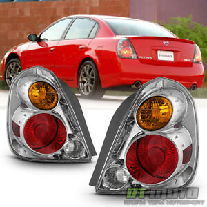 For 2002 2003 2004 2005 2006 Altima Tail Lights Lamps Replacement Left right Set