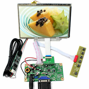 Vga Lcd Controller Board 7 Hsd070pww1 C00 1280x800 Ips Lcd With Touch Panel