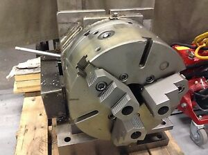 Troyke 15 4th Axis 3 Jaw Chuck 4 Thru Hole