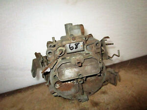 Rochester 7029223 1y Carburetor 4 Barrel For 69 Chevy Gmc Truck W 350 Cu In Eng