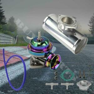 25 Psi Neo Chrome Type Rs Blow Off Valve 2 5 Polished Aluminum Pipe Bov Adapter