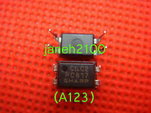 2000pc Original Sharp Pc817c Pc817 El817 817c Optocoupler Dip 4