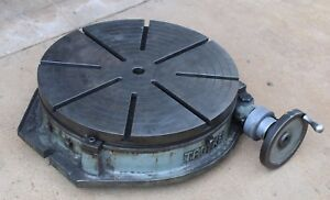25 Troyke R 25 Rotary Table For Milling Machine Mill Cnc Bridgeport