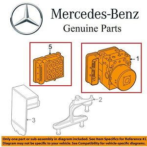 For Mercedes W204 X204 Abs Antilock Brake Hydraulic And Stability Control Unit