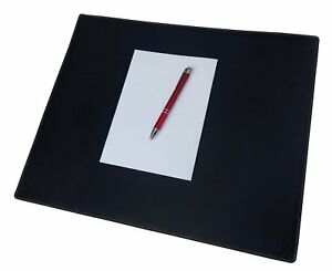 Red Spider Genuine Leather Executive Desk Pad writing Pad Black