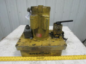 Enerpac Compact Modular Hydraulic Pump Power Unit 115 208 230v 1 5hp 1725 Rpm