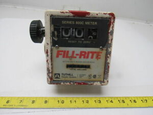 Fill rite 8070050 Analog Heavy Duty Flammable Liquid Mechanical Flow Meter