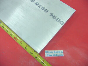 3 8 X 8 Aluminum 6061 Flat Bar 20 Long Solid T6511 Extruded Plate Mill Stock