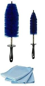 Sr1 Performance Wheel Brush Kit With Ez Detail And Chrome Polishing Towels