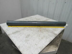 51 X 4 Steel Flat Face Steel Conveyor Roller 1 7 16 Keyed Bore