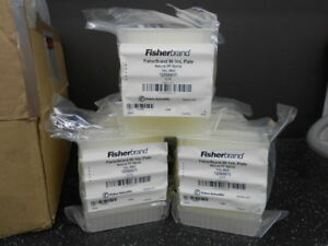 Lot Of 9 Fisherbrand 12566611 96 1 Ml Plate Natural Pp Sterile 5 pk