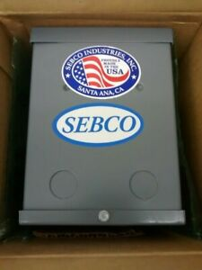 Sebco 1108 Low Voltage Lighting Transformer 150w 120vac 12vac 60hz Class 2
