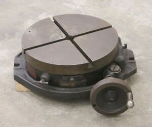 15 Troyke Rotary Table For Milling Machine Mill Cnc Bridgeport