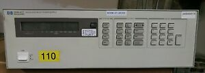 Hp Agilent Keysight 6623a System Power Supply 80w 3 Outputs Quantity