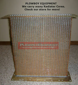 A aa396r Radiator Core For John Deere Tractor A Ar Ao New