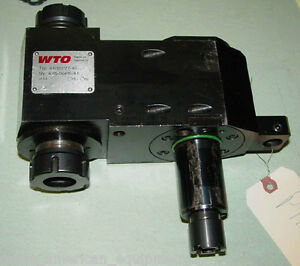 Wto Type 410120177 40 Live Toolholder For Cnc Lathe With Sub spindle