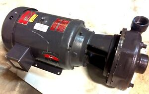 Gusher General Service Ind Pump 100 Gpm Tdh 138ft Baldor 10hp 3 phase Motor New
