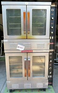 Vulcan Snorkel Double Stacked Commercial Gas Oven Sg1010 1 Phase 115v 60hz