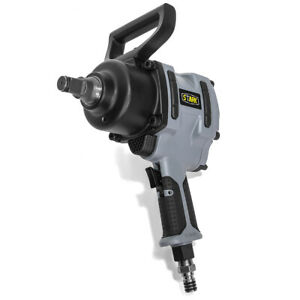 3 4 Inch Air Impact Wrench 1200ft Lb Twin Hammer Short Shank 6 Torque Position