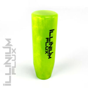 Illinium Flux Green Pearl Painted White Inlay Drift Manual Shift Knob 10x1 5 K62