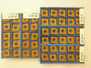 50 Pc Valenite Cpgt 431fh Sv310 Turning Carbide Inserts K418