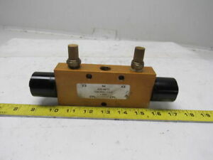 Air mite V4315lp 4 Way 2 Position Double Pilot 3 8 Ports Pneumatic Valve