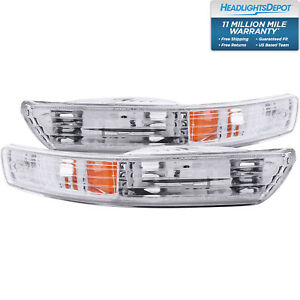 Fits 98 01 Acura Integra Parking Signal Lights W Clear Lens