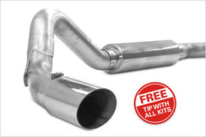 Jamo Stainless Cat Back Exhaust 2001 2005 Chevrolet Gmc 6 6l Duramax Lb7 Lly