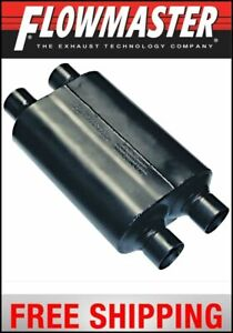 Flowmaster Super 40 Series Muffler 2 5 Dual In 2 5 Dual Out
