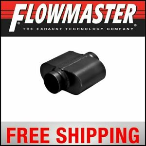 Flowmaster 10 Series Delta Force Race Muffler 3 5 Center In 3 5 Center Out