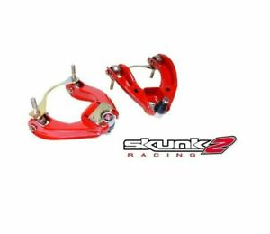 Skunk2 Racing Pro Series Adjustable Front Camber Arms 1988 1991 Honda Civic Crx