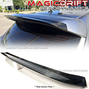 Carbon Fiber Mazdaspeed Speed Style Add on Roof Spoiler Wing Fits 10 13 Mazda 3