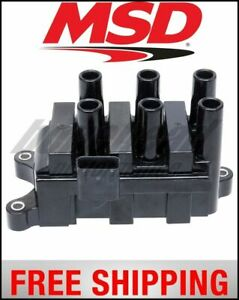 Msd Ignition Coil Pack Street Fire Ford 6 tower Dis 01 04