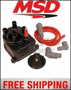 Msd Ignition Distributor Cap And Rotor Mod Honda Civic crx 1 5 1 6l 88 91