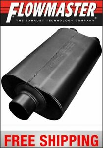 Flowmaster Universal Super 50 Muffler 3 Center In 2 5 Dual Out