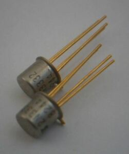 Lot Of 2 Solitron Devices 2n3332 Transistor P ch Si Small Signal Jfet To 72