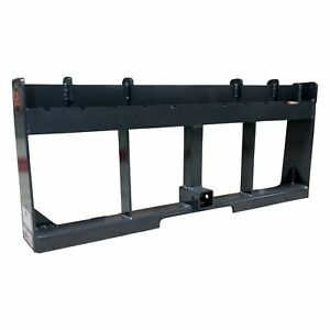 Ua Made In The Usa 42 Pallet Fork Trailer Hitch Skid Steer Attachment