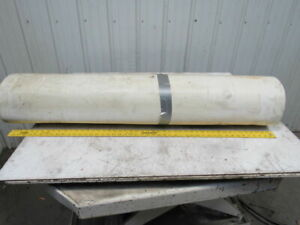 2 ply White clear Polyurethane Smooth Top Conveyor Belt 51 X 49 X 0 065