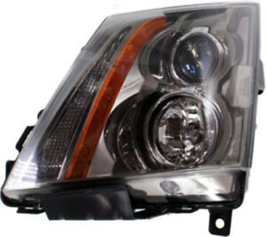 Left Driver Side Headlight Head Lamp For 2008 2015 Cadillac Cts