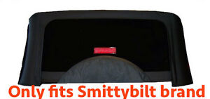 1987 1995 Jeep Wrangler Only Fits Smittybilt Soft Top Rear Tinted Window Black