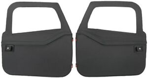 1997 2006 Jeep Wrangler Bestop 2 Piece Soft Full Doors Black Diamond 51789 35
