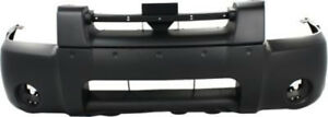 Primed Front Bumper Cover Replacement For 2001 2004 Nissan Frontier