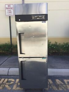 Turbo Air Jrf 25 Commercial Dual Temp Reach In Refrigerator freezer Combo