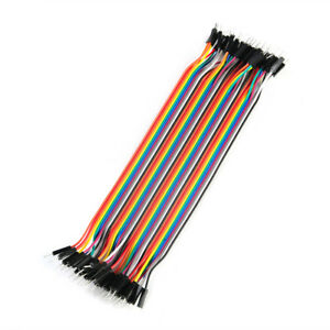 40pcs 20cm Good Male To Male Dupont Wire Jumper Cable For Arduino Breadboard