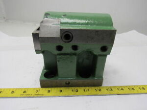 2 Id Turret Tooling Holder Block 20mm Alignment Groove