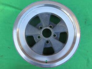 Cragar G t 15 X 6 Vintage Steel Alloy Composite 5 Spoke Mag Wheel 5 Lug 4 1 2