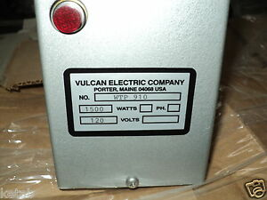 Vulcan Wtp910a Immersion Heater 14 1 8 In L
